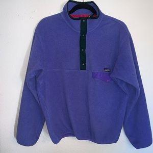 🔻Patagonia - 1/4 Button Up Fleece Jacket